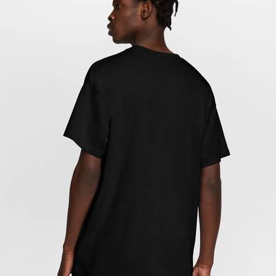 NikeLab T-Shirt Black White Back