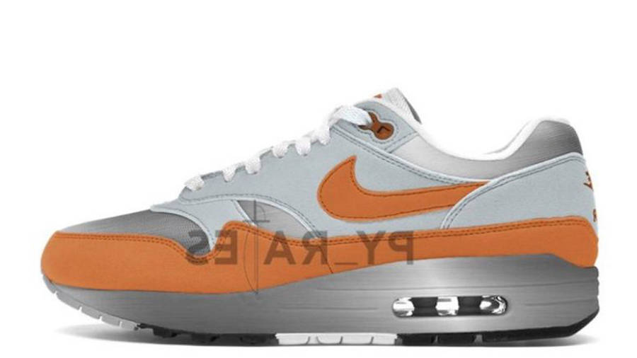 Patta x Nike Air Max 1 Metallic Silver Monarch