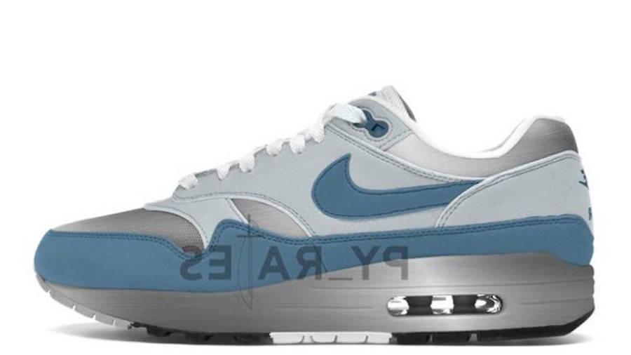 Patta x Nike Air Max 1 Metallic Silver Noise Aqua
