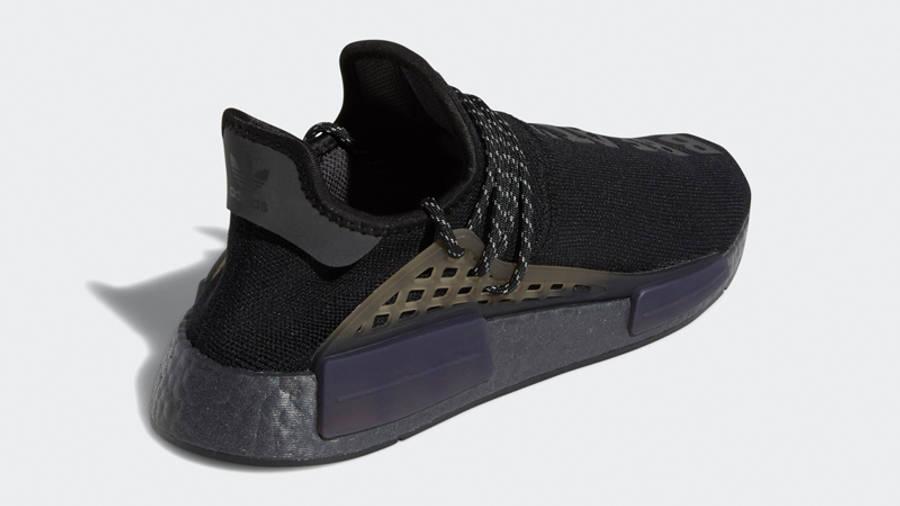 Pharrell x adidas NMD Hu Black Future Back