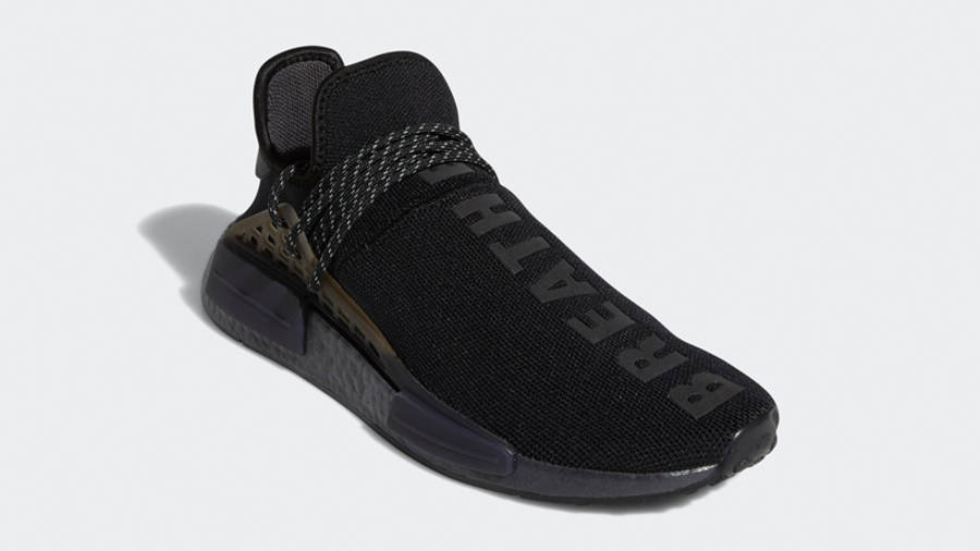 Pharrell x adidas NMD Hu Black Future Front