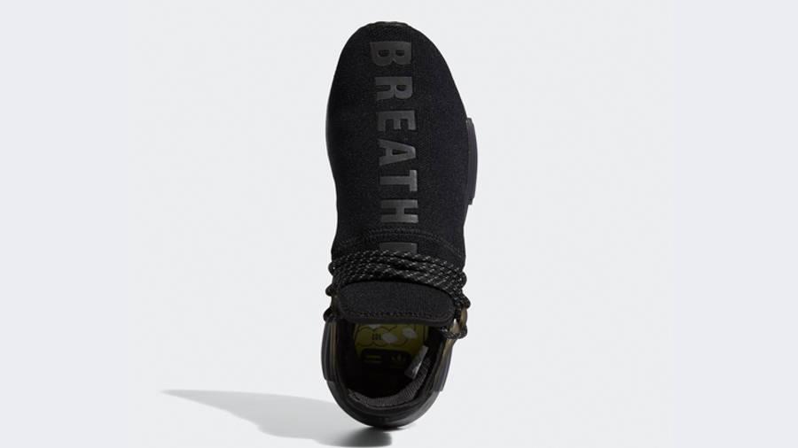 Pharrell x adidas NMD Hu Black Future Middle