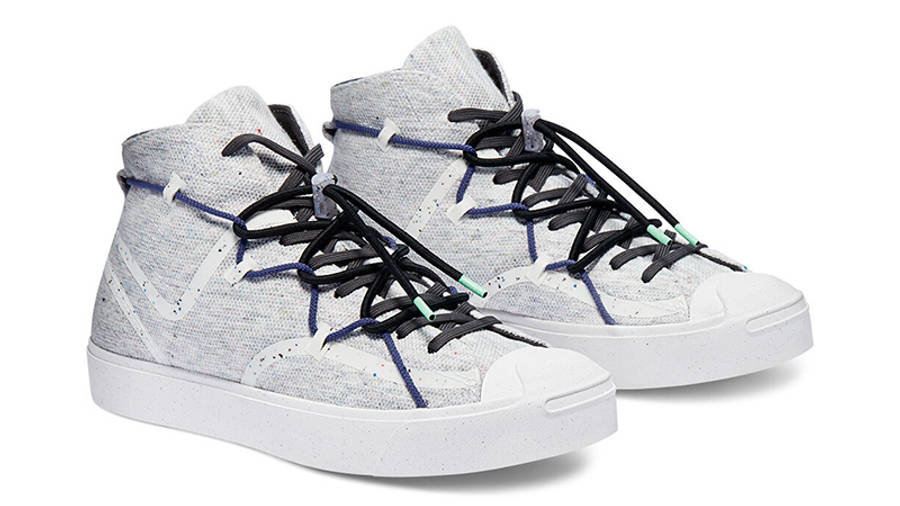 Renew x Converse Jack Purcell Mid White Side
