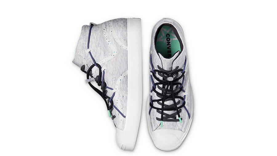 Renew x Converse Jack Purcell Mid White Top