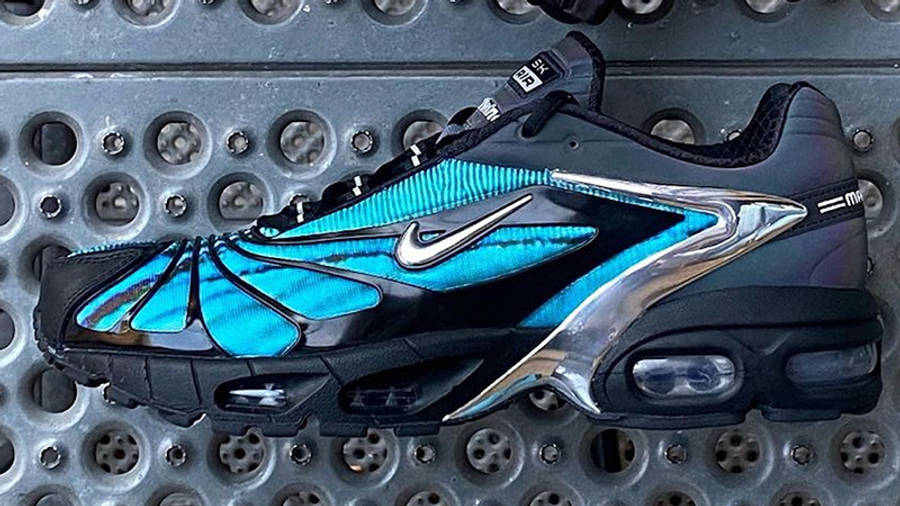Skepta x Nike Air Max Tailwind 5 Bright Blue First Look Side