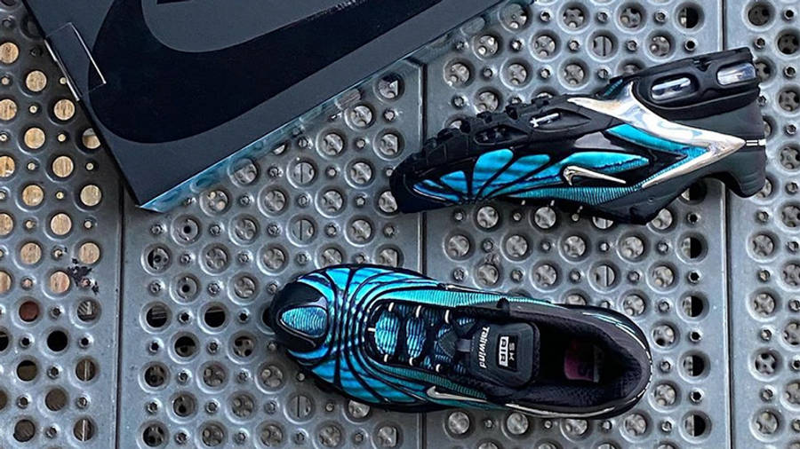 Skepta x Nike Air Max Tailwind 5 Bright Blue First Look Top