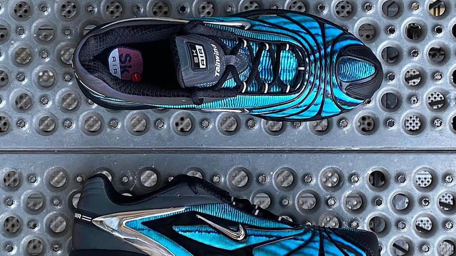 Skepta x Nike Air Max Tailwind 5 Bright Blue First Look