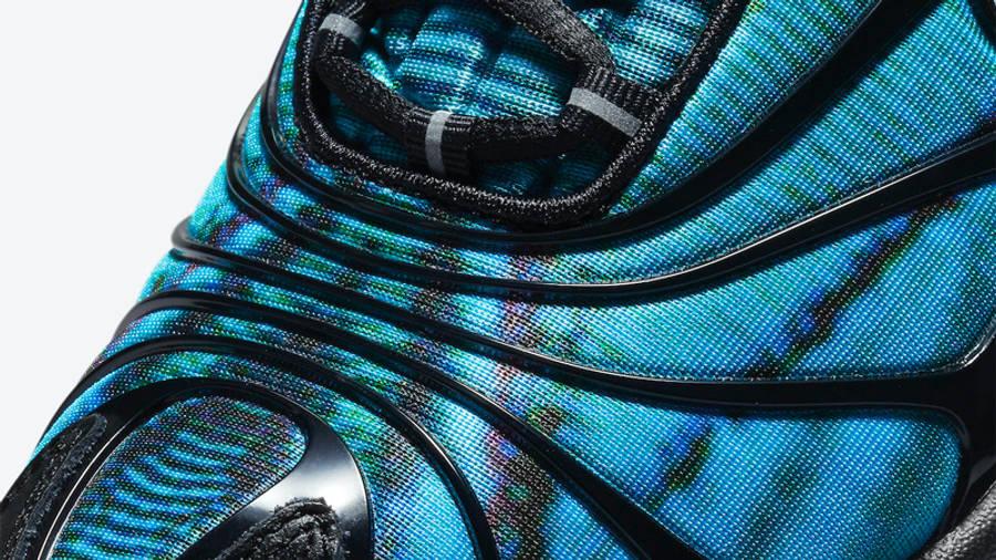 Skepta x Nike Air Max Tailwind 5 Bright Blue Front Closeup