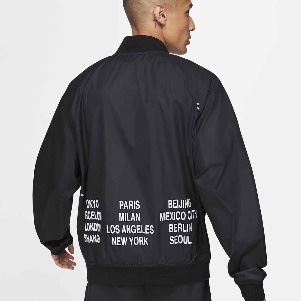 Nike Sportswear Woven Jacket Black DA0647-010 Back