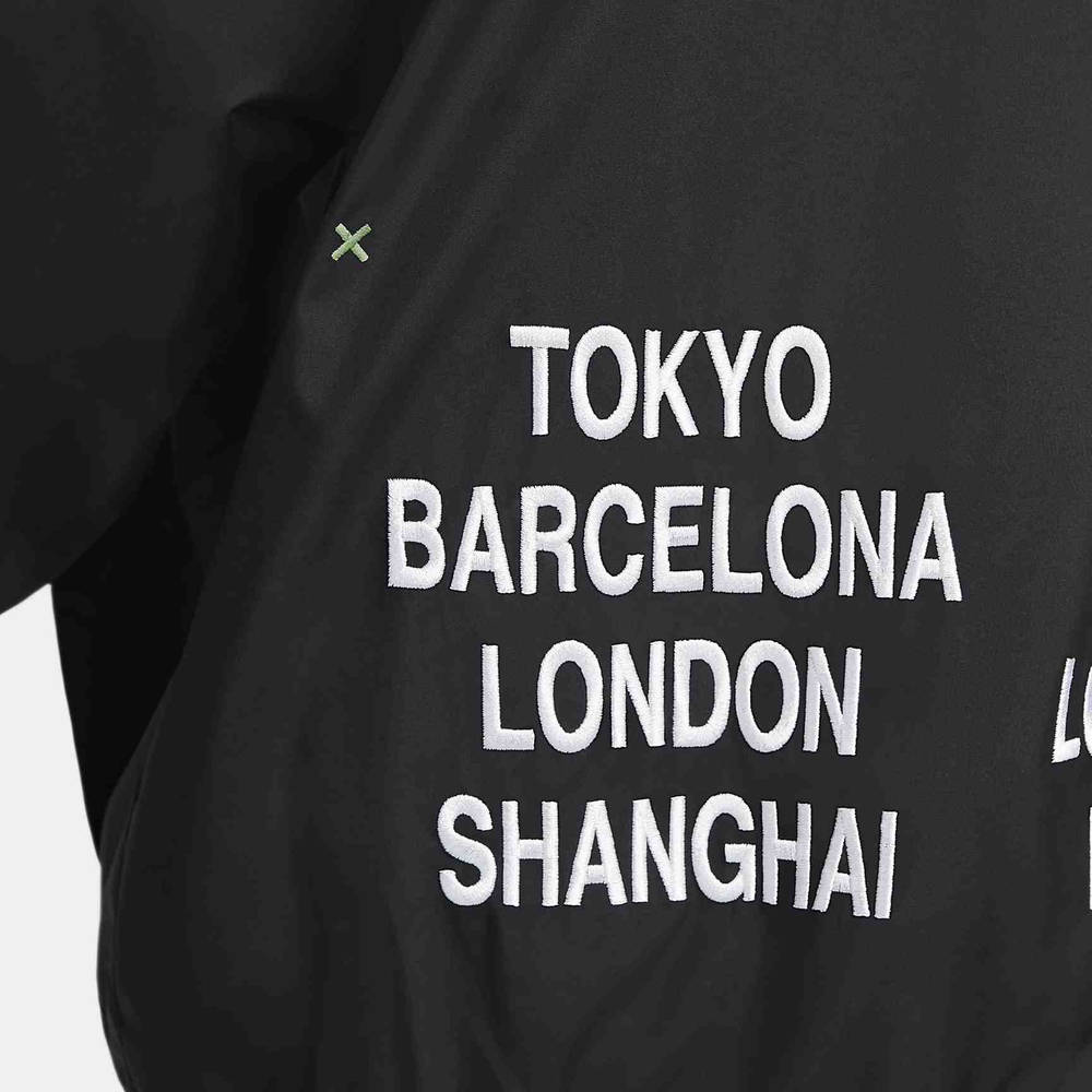 Nike Sportswear Woven Jacket Black DA0647-010 Detail Back