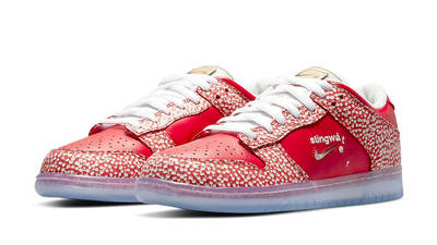 Stingwater x Nike SB Dunk Low Bright Red Front