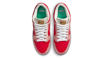 Stingwater x Nike SB Dunk Low Bright Red Middle