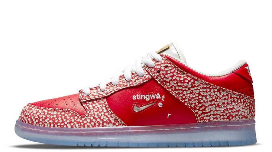 Stingwater x Nike SB Dunk Low Bright Red