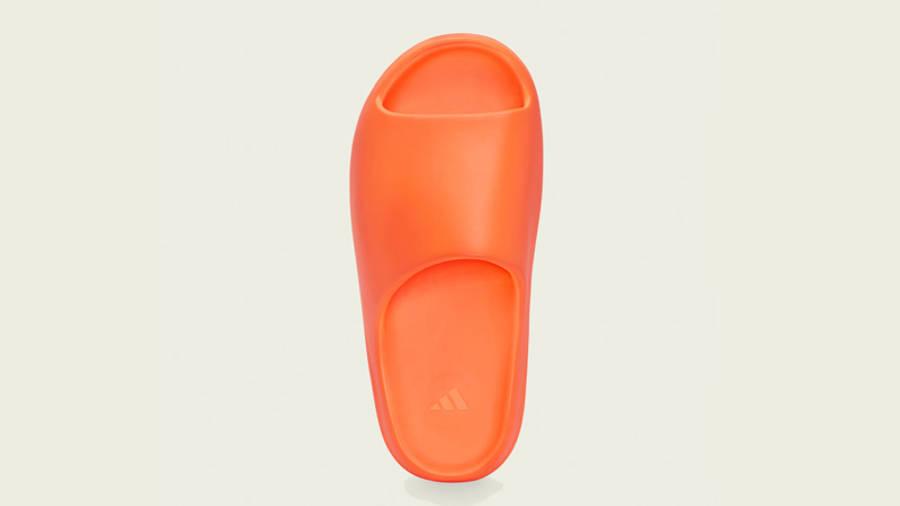 Yeezy Slide Enflame Orange Middle