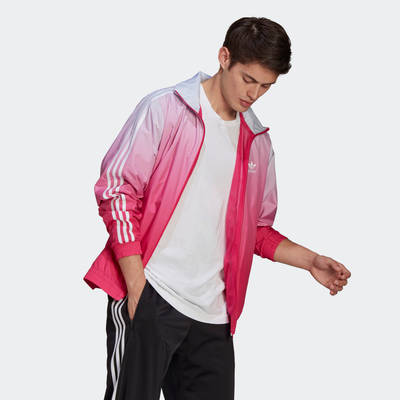 adidas Adicolor 3D Trefoil 3-Stripes Ombre Track Top Full