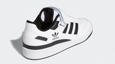 adidas Forum Low Cloud White Black Back