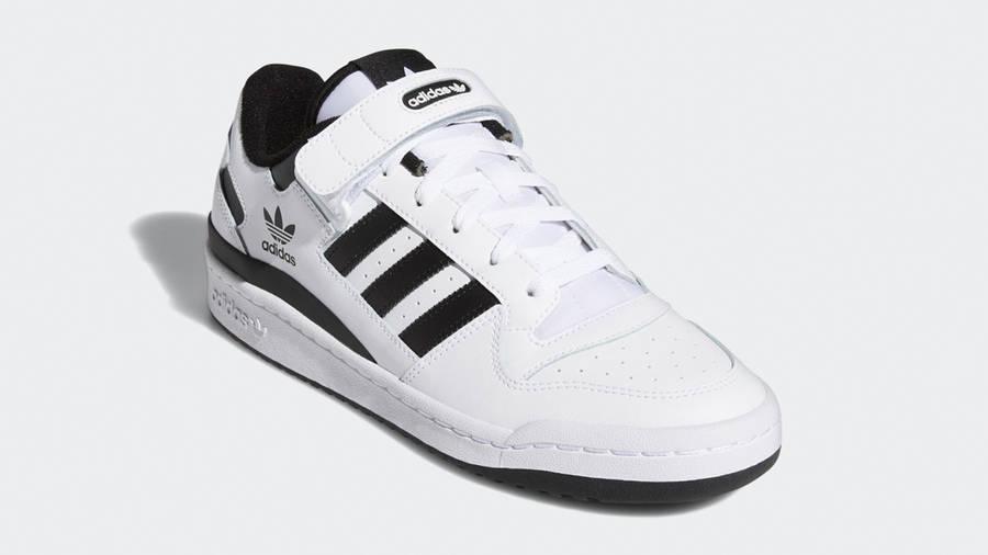 adidas Forum Low Cloud White Black Front