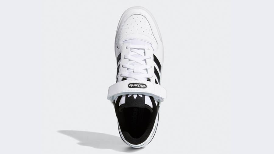 adidas Forum Low Cloud White Black Middle