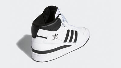 adidas Forum Mid White Black Back