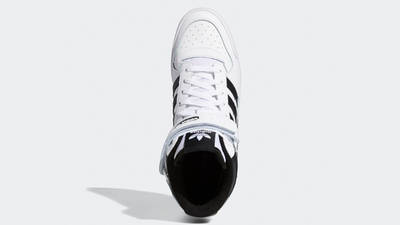 adidas Forum Mid White Black Middle