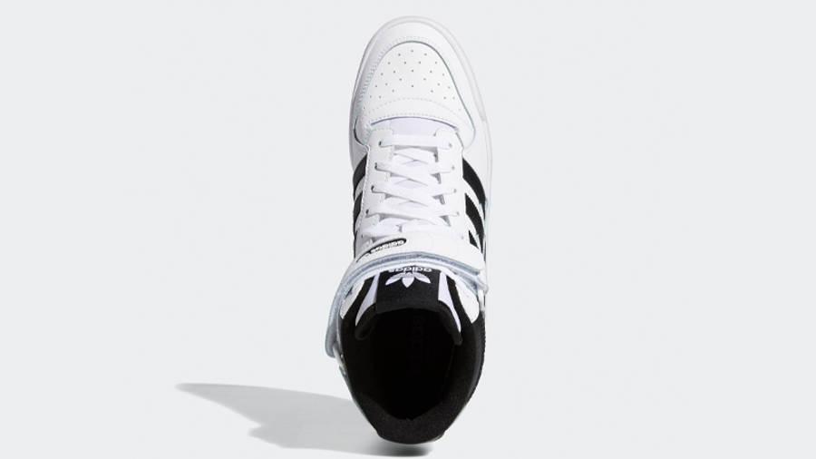 adidas Forum Mid White Black Middle