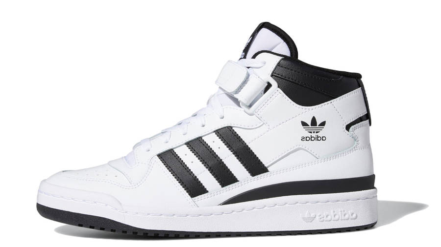 adidas Forum Mid White Black