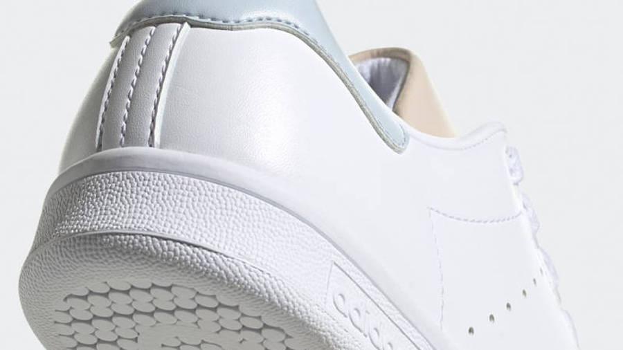 adidas Stan Smith White Halo Ivory Closeup