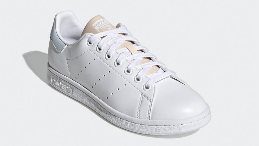 adidas Stan Smith White Halo Ivory Front