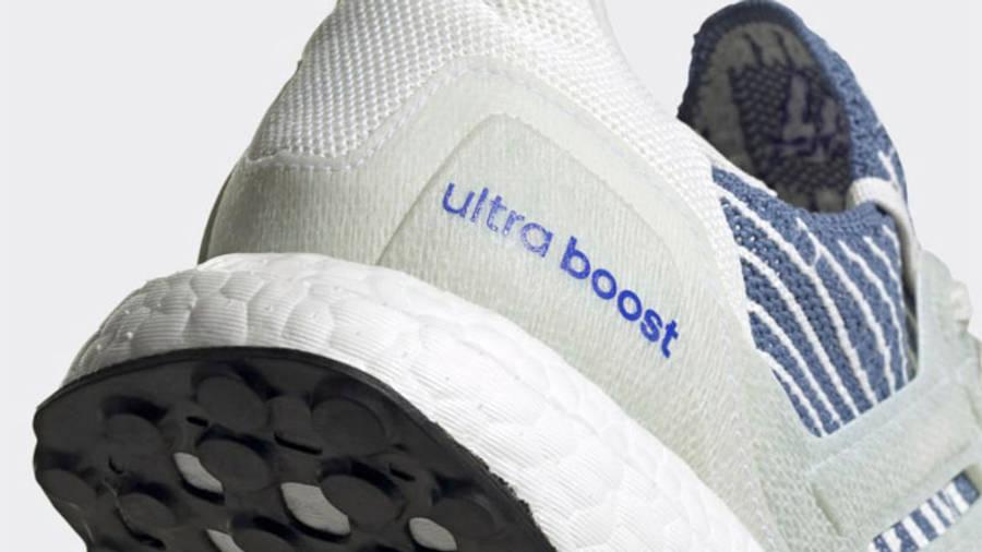 adidas Ultra Boost 6.0 Non Dyed Crew Blue Closeup