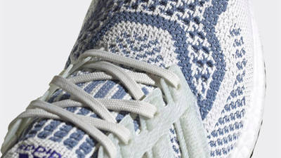 adidas Ultra Boost 6.0 Non Dyed Crew Blue Front Closeup