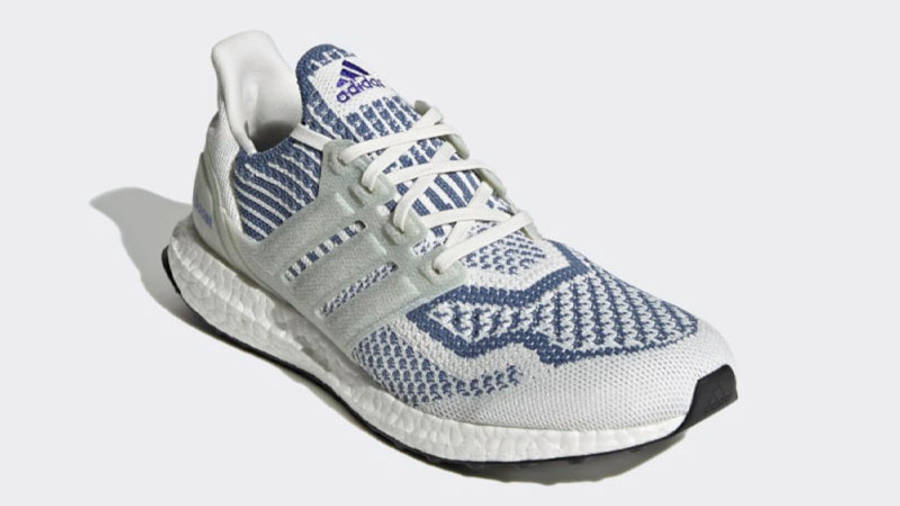adidas Ultra Boost 6.0 Non Dyed Crew Blue Front