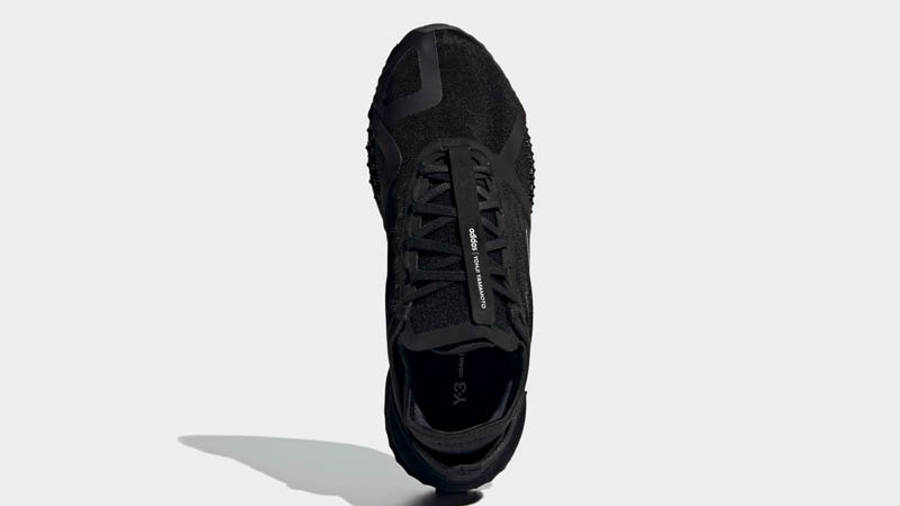 adidas Y-3 Runner 4D IO Black Middle