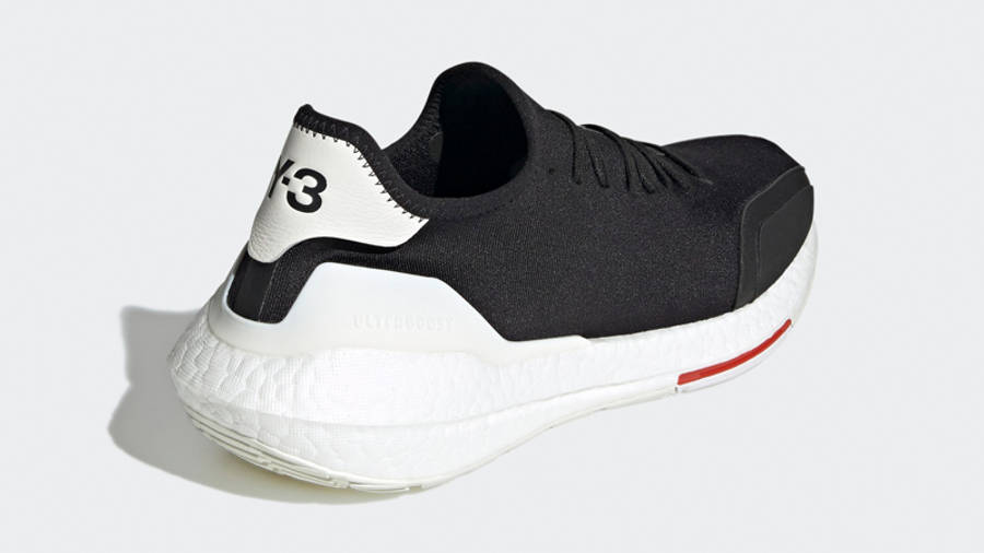 adidas Y-3 Ultra Boost 21 Black Red Back