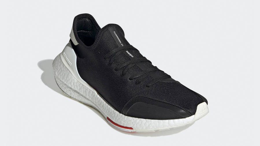 adidas Y-3 Ultra Boost 21 Black Red Front