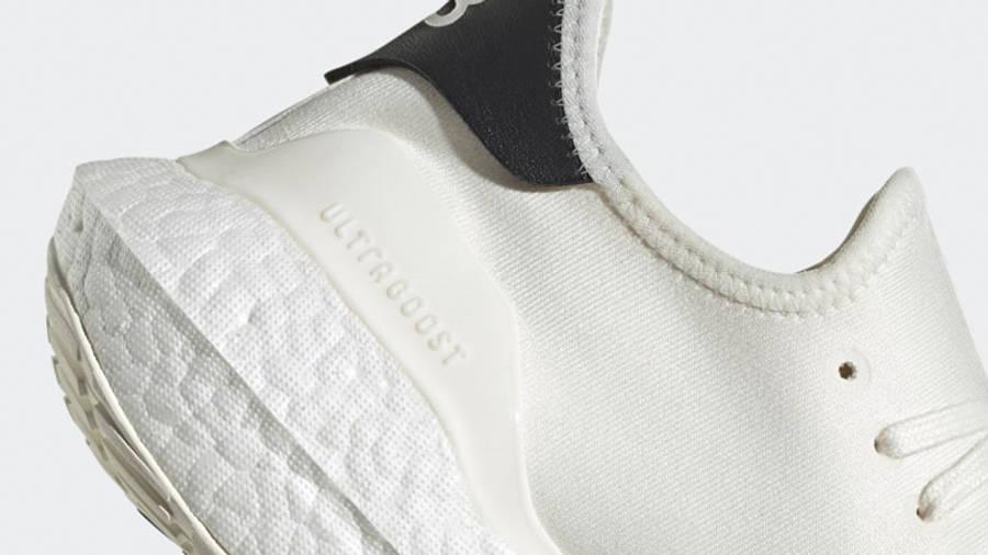 adidas Y-3 Ultra Boost 21 Core White Black Closeup