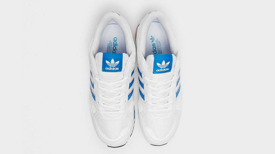 adidas ZX 750 White Blue Middle
