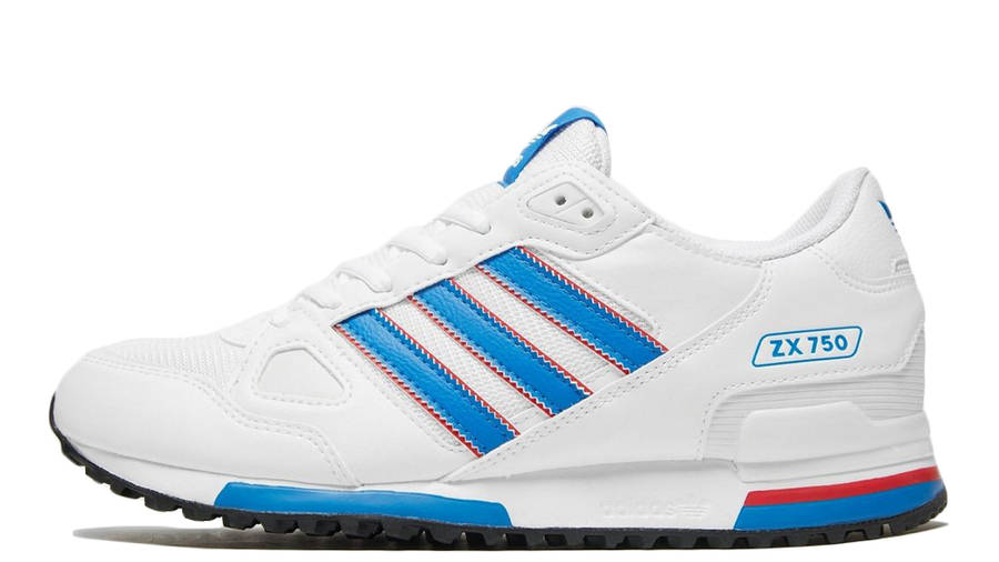 adidas ZX 750 White Blue