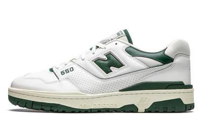 Aime Leon Dore x New Balance 550 White Green