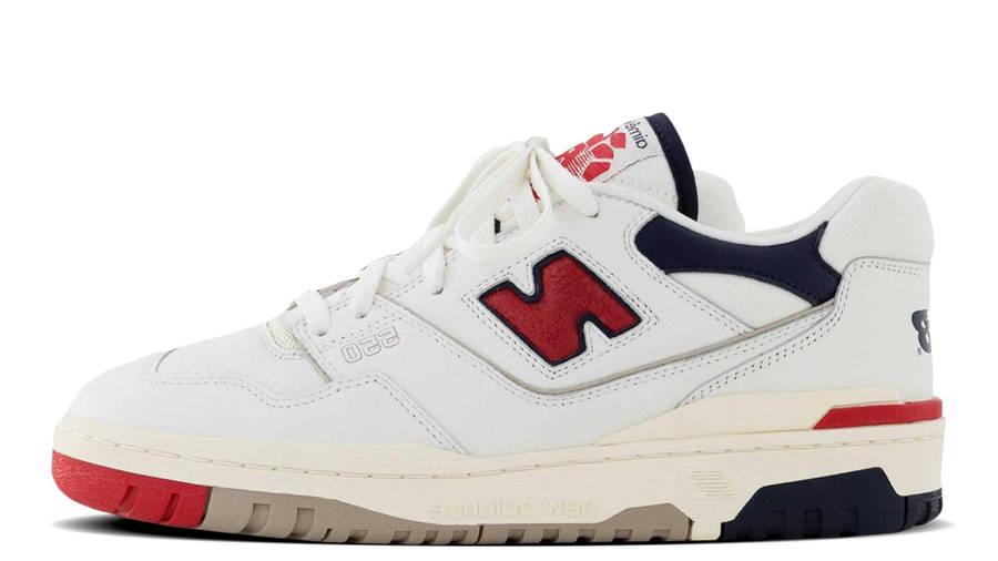 Aime Leon Dore x New Balance 550 White Navy Red