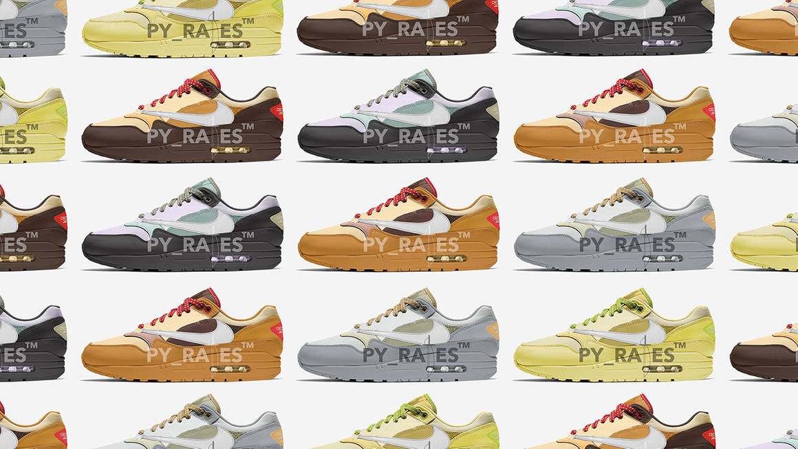 """The Travis Scott x Nike Air Max 1 """"Cactus Jack"""" is Dropping in Five Colourways"""