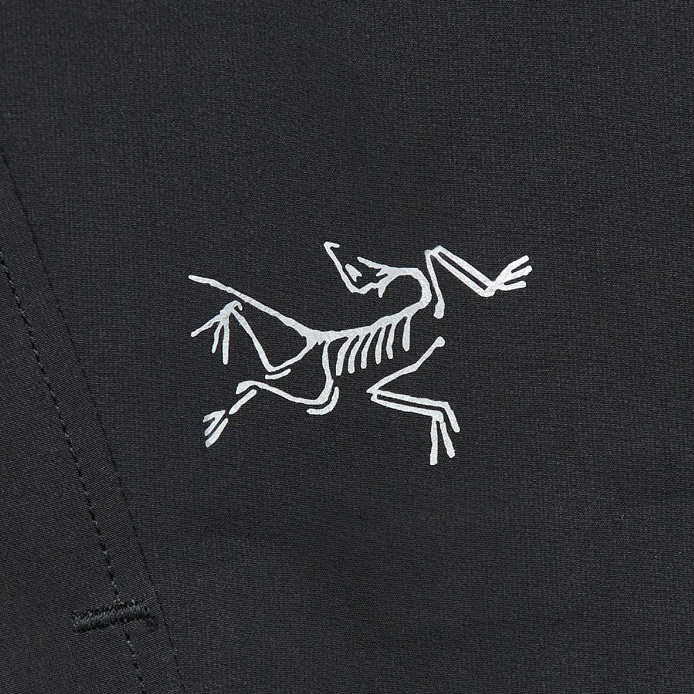 Arc'teryx Aptin Short Black Closeup