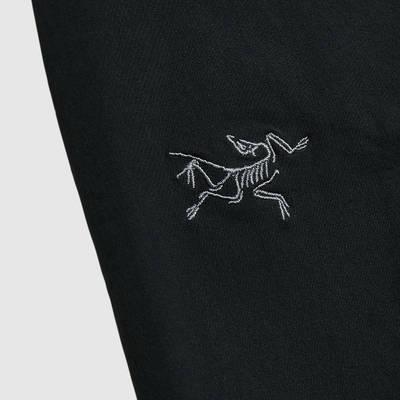 Arc'teryx Gamma LT Pant Black Closeup Logo