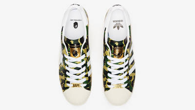 BAPE x adidas Superstar ABC Camo Middle