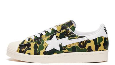 BAPE x adidas Superstar ABC Camo