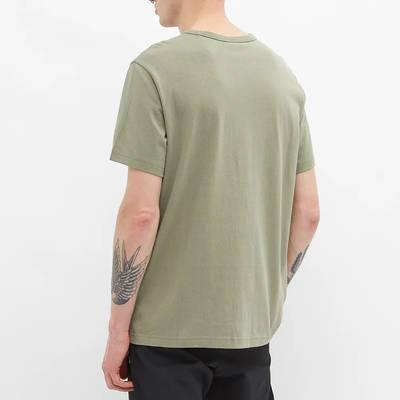 Champion Reverse Weave Classic Crew Neck T-Shirt Stone Back