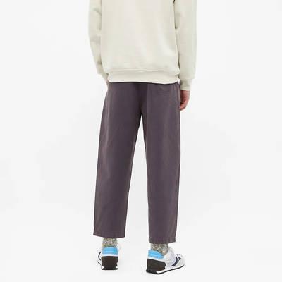 Champion Reverse Weave Garment Dyed Twill Pant Dark Indigo Back