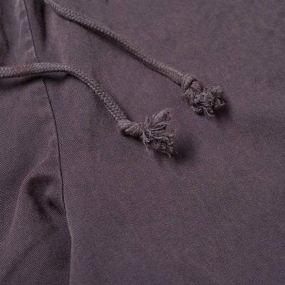 Champion Reverse Weave Garment Dyed Twill Pant Dark Indigo Detail 2