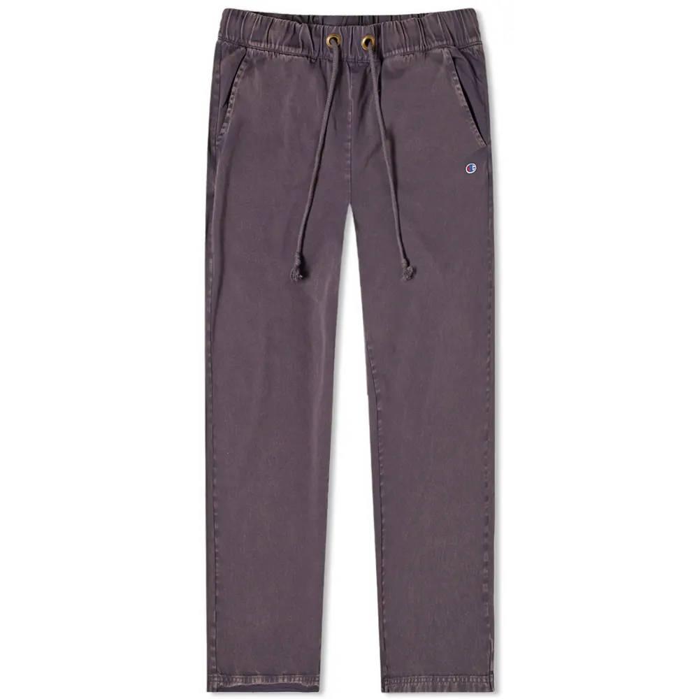 Champion Reverse Weave Garment Dyed Twill Pant Dark Indigo