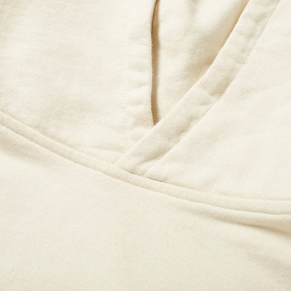 Cole Buxton CB Logo Warm Up Hoody Natural Detail 2