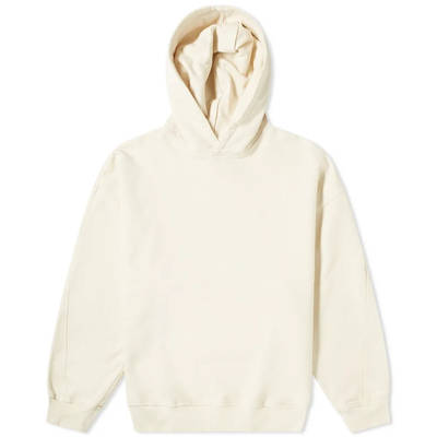 Cole Buxton CB Logo Warm Up Hoody Natural Front